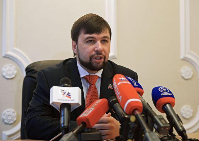 Wysłannik DRL w grupie kontaktowej ds. Ukrainy Denis Puszylin