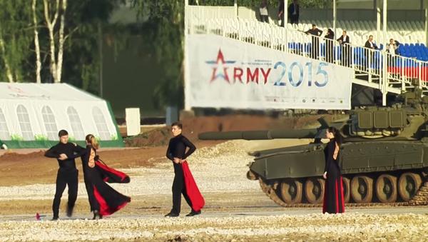 Balet czołgów - Sputnik Polska
