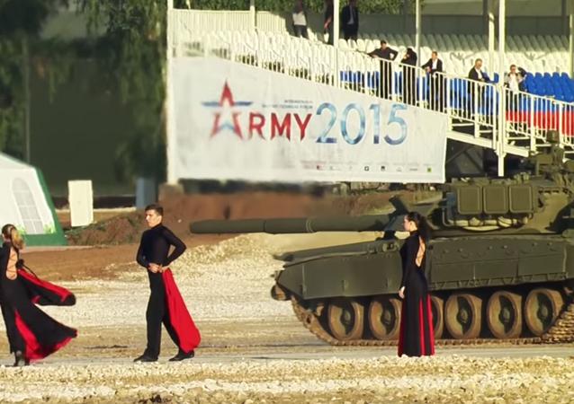 Balet czołgów