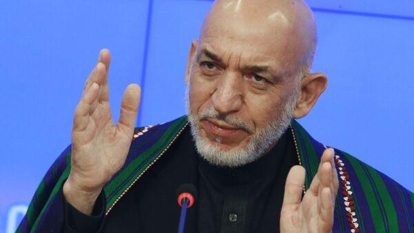 Były prezydent Afganistanu Hamid Karzaj - Sputnik Polska
