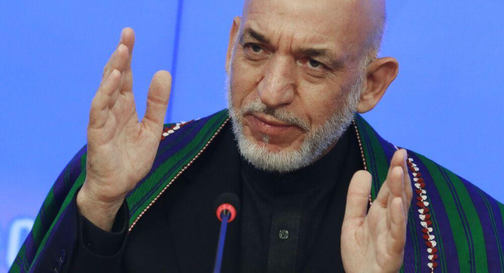 Były prezydent Afganistanu Hamid Karzaj