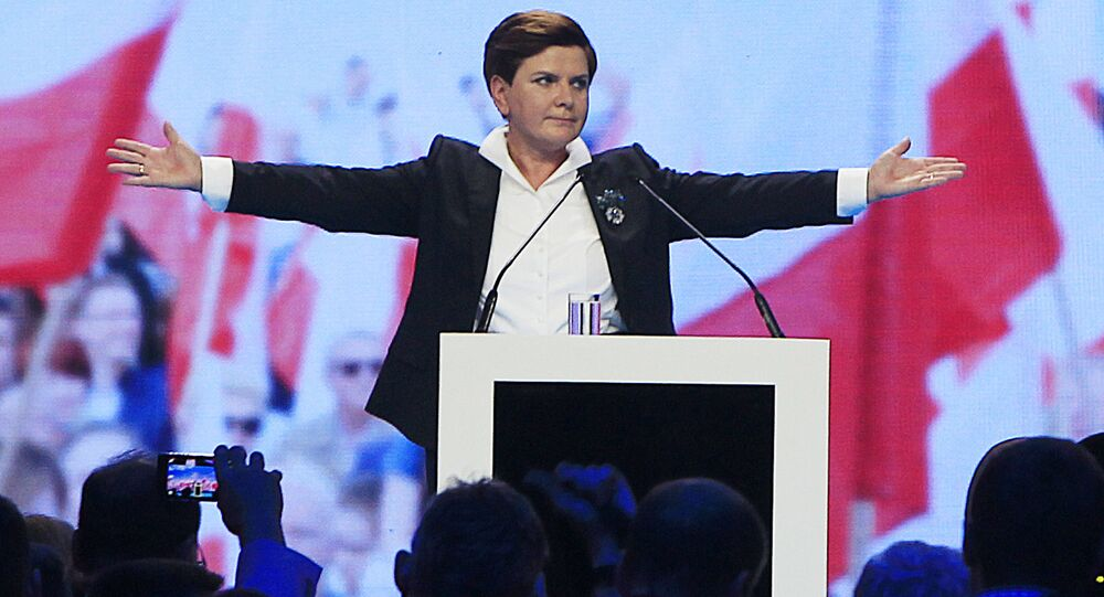 Beata Szydło, kandydatka na stanowisko premiera od PiS