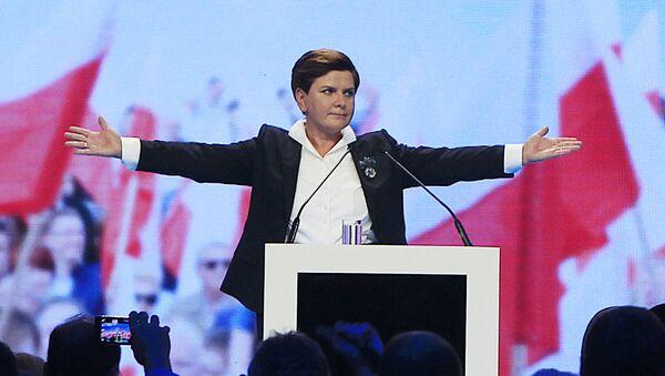 Beata Szydło, kandydatka na stanowisko premiera od PiS - Sputnik Polska