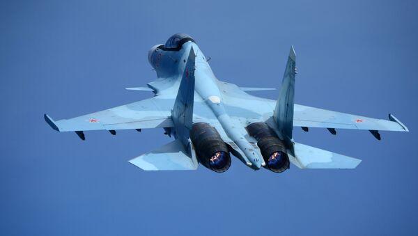 Myśliwiec Su-30 - Sputnik Polska