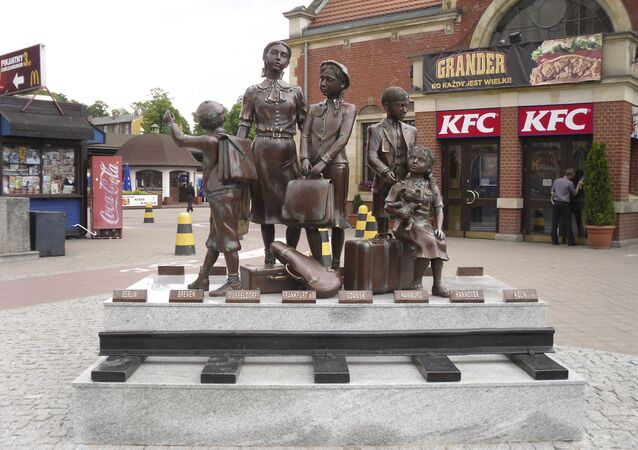 Pomnik Kindertransportów, Gdańsk