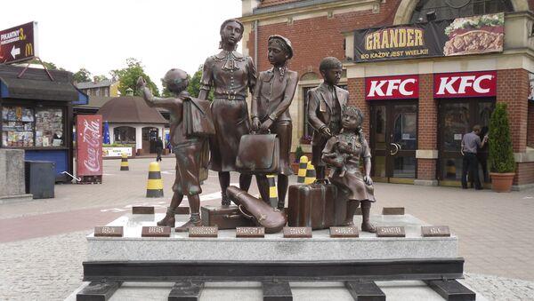 Pomnik Kindertransportów, Gdańsk - Sputnik Polska