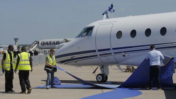 Samolot Gulfstream - Sputnik Polska