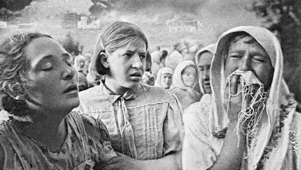Pierwsze dni Wielkiej Wojny Ojczyźnianej w Kijowie, 23 czerwca 1941 r. - Sputnik Polska