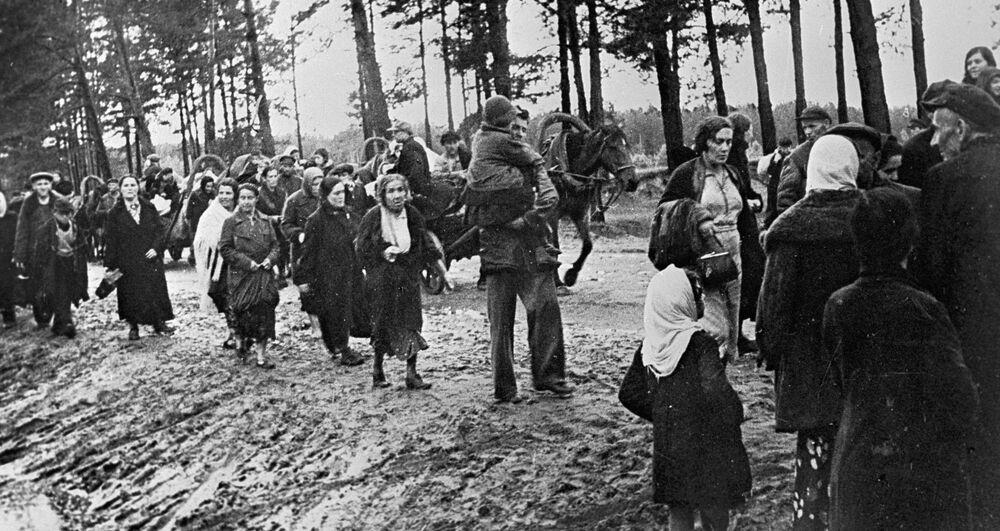 Uchodźcy, czerwiec 1941 r.