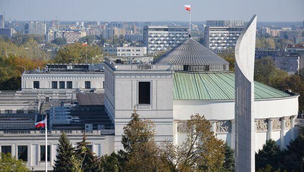 Budynek Sejmu RP w Warszawie - Sputnik Polska