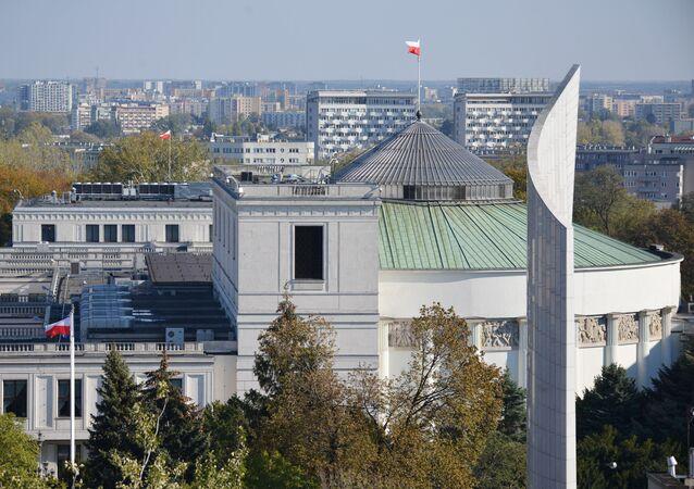 Budynek Sejmu RP w Warszawie