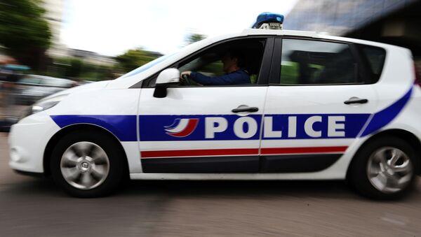 Samochód francuskiej policji - Sputnik Polska