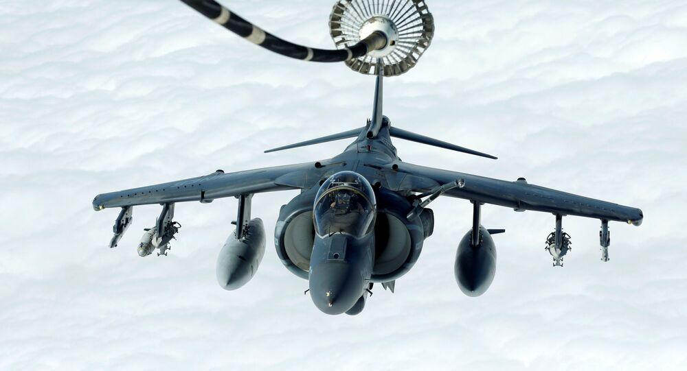 Amerykański Harrier AV-8B