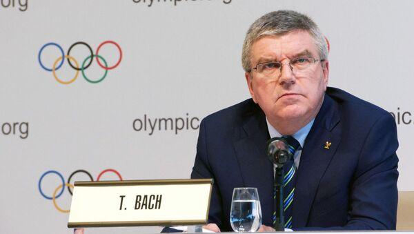 Szef Międzynarodowego Komitetu Olimpijskiego Thomas Bach - Sputnik Polska