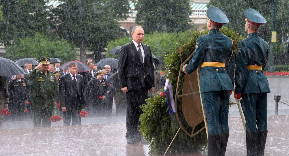 22 czerwca Rosjanie obchodzą Dzień Pamięci i Żalu