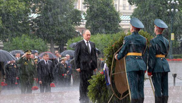 22 czerwca Rosjanie obchodzą Dzień Pamięci i Żalu - Sputnik Polska
