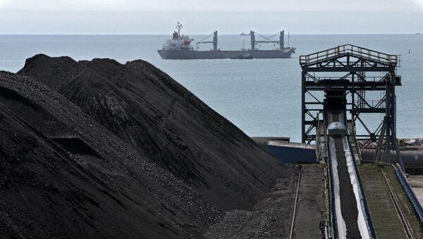 Wyspecjalizowany kompleks węglowy przedsiębiorstwa Wostocznyj Port w Kraju Nadmorskim - Sputnik Polska