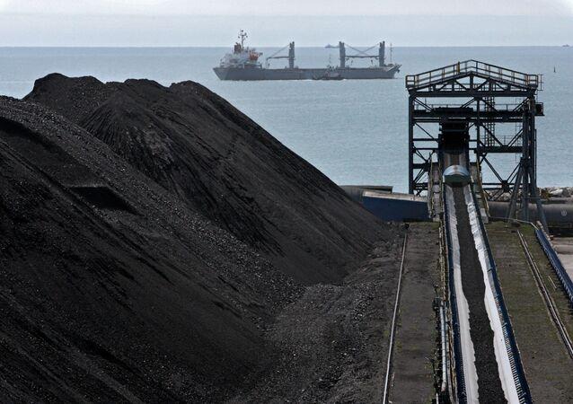 Wyspecjalizowany kompleks węglowy przedsiębiorstwa Wostocznyj Port w Kraju Nadmorskim