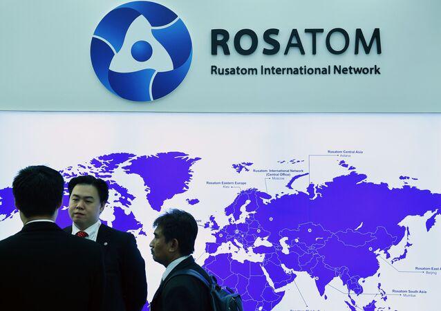 Stoisko Rosatomu na Atomexpo w Moskwie