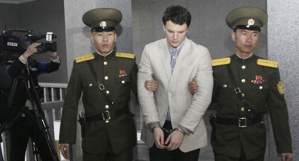 Aresztowanie amerykańskiego studenta Otto Fredericka Warmbiera w Korei Północnej