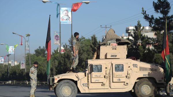 Afgańscy wojskowi w Kabulu - Sputnik Polska