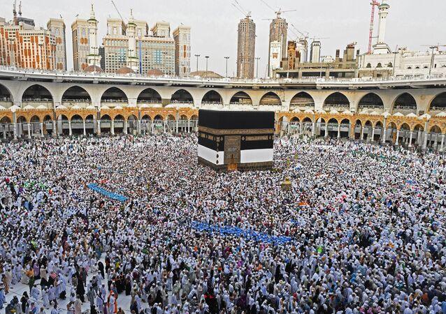 Pielgrzymi w Mekce