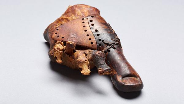 Proteza znaleziona w egipskim grobowcu - Sputnik Polska
