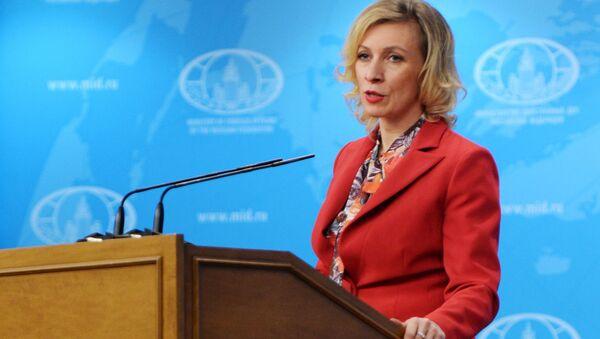 Rzeczniczka Ministerstwa Spraw Zagranicznych Maria Zacharowa - Sputnik Polska