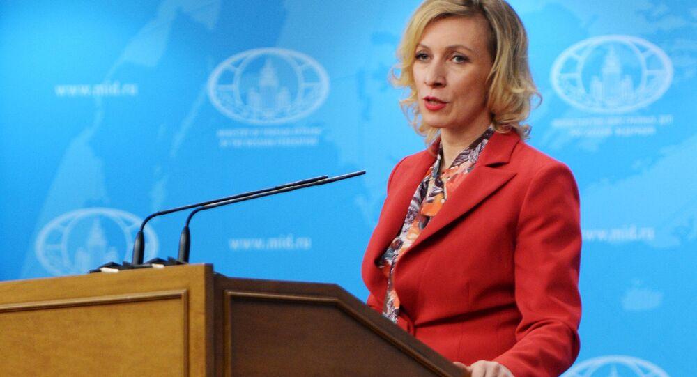 Rzeczniczka Ministerstwa Spraw Zagranicznych Maria Zacharowa