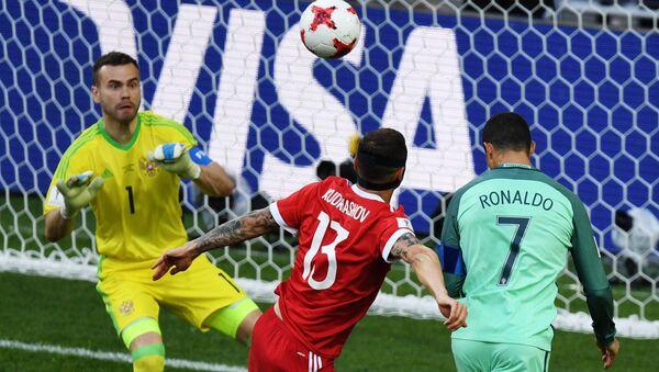 Football. 2017 FIFA Confederations Cup. Russia vs. Portugal - Sputnik Polska