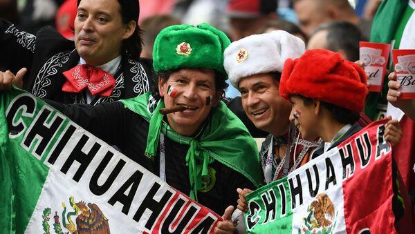 Puchar Konfederacji 2017. Mecz Meksyk-Rosja - Sputnik Polska