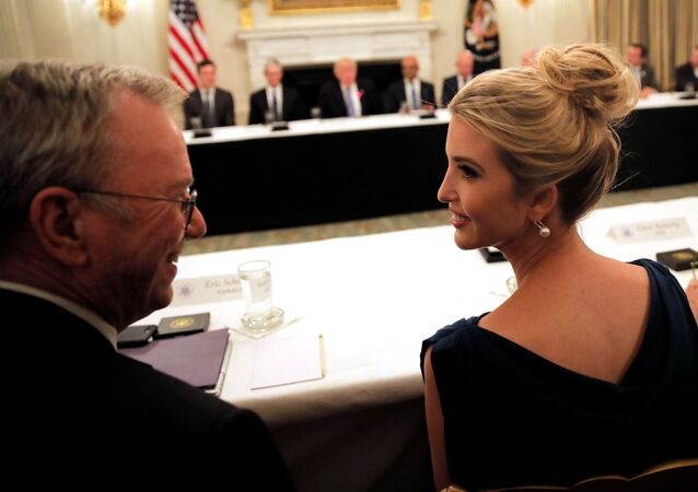 Ivanka Trump w czasie American Technology Council w Waszyngtonie