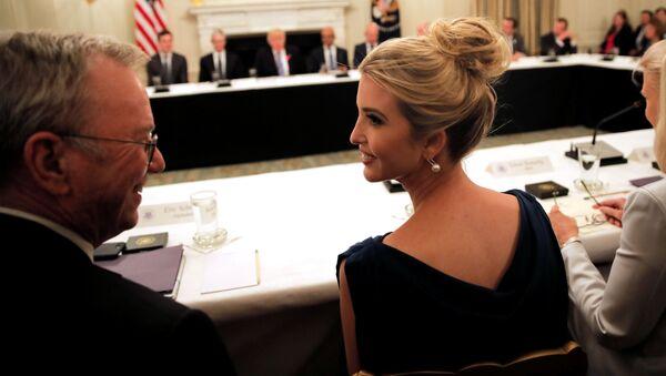 Ivanka Trump w czasie American Technology Council w Waszyngtonie - Sputnik Polska