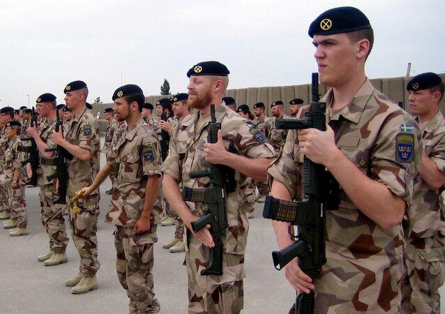 Szwedzcy żołnierze