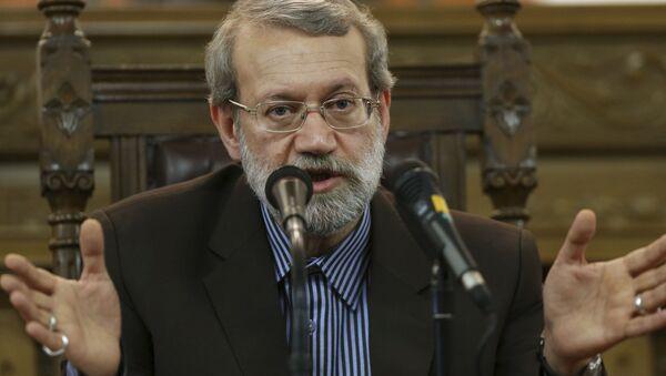 Przewodniczący irańskiego parlamentu Ali Laridżani - Sputnik Polska