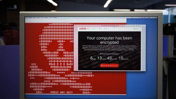 Wirus typu ransomware Petya - Sputnik Polska