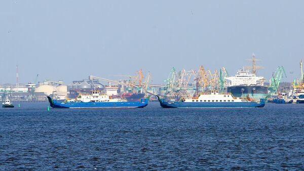 Portu morski w Kłajpedzie - Sputnik Polska