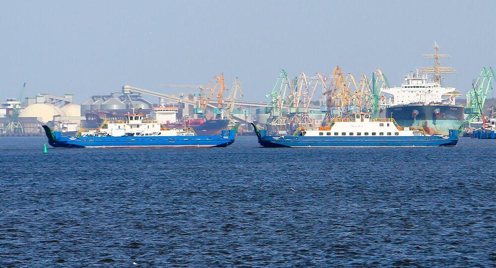 Portu morski w Kłajpedzie