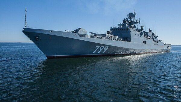 """Fregata """"Admirał Makarow"""" - Sputnik Polska"""