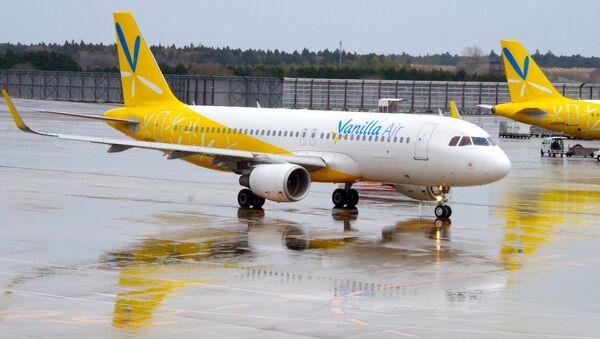 Samolot japońskich linii lotniczych Vanilla air - Sputnik Polska