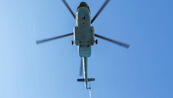 Rosyjski śmigłowiec Mi-8MT - Sputnik Polska