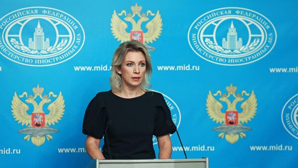 Rzecznik MSZ Rosji Maria Zacharowa - Sputnik Polska