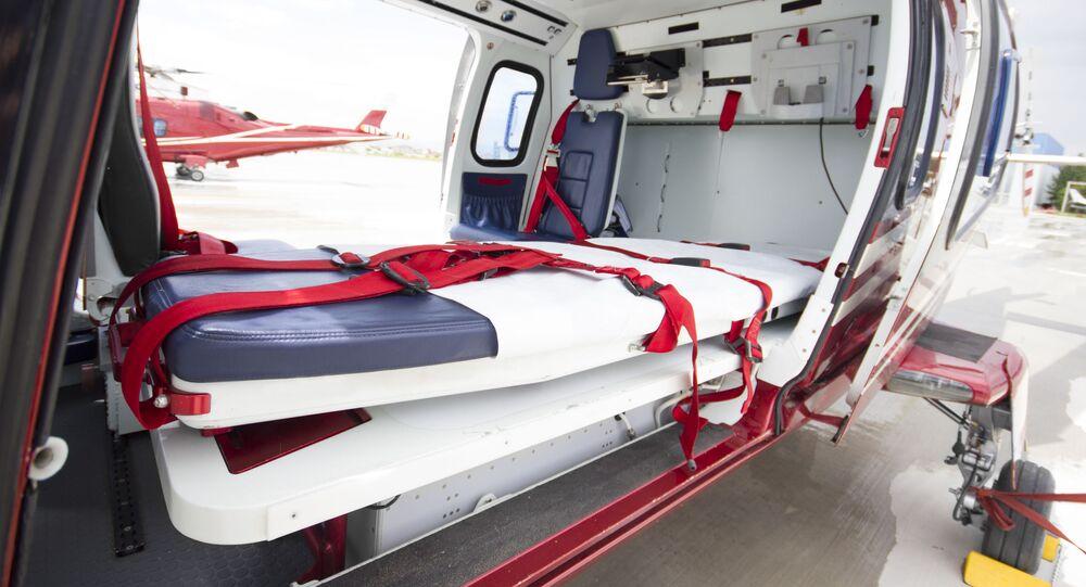 Helikopter pogotowia w USA