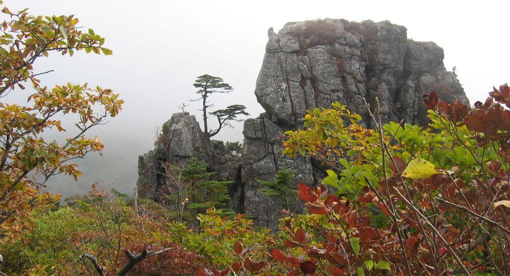 Góra Jiri-san w Korei Południowej