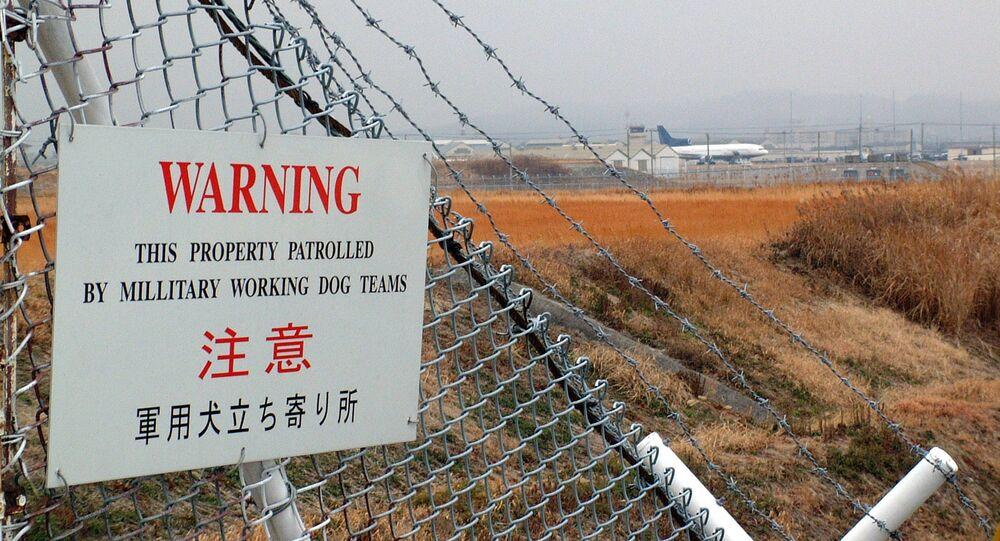 Amerykańska baza lotnicza Iwakuni w Japonii
