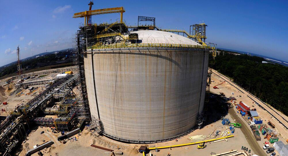 Terminal gazowy w Świnoujściu