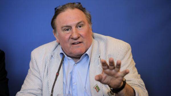 Gérard Depardieu - Sputnik Polska