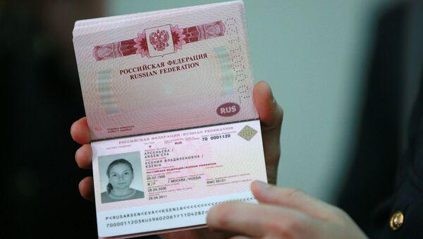 Rosyjski paszport biometryczny - Sputnik Polska