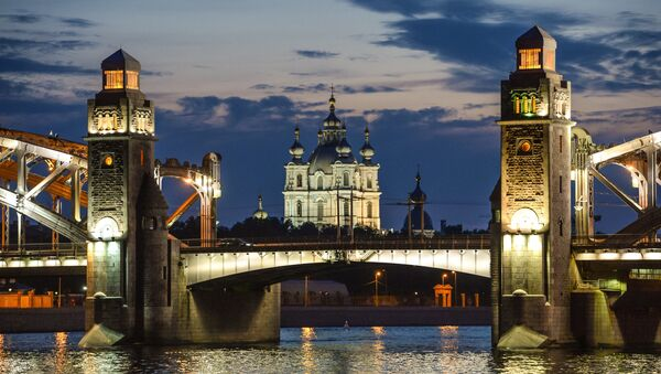 Petersburg, otwarcie mostów - Sputnik Polska