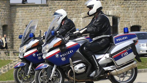 Austriacka policja - Sputnik Polska